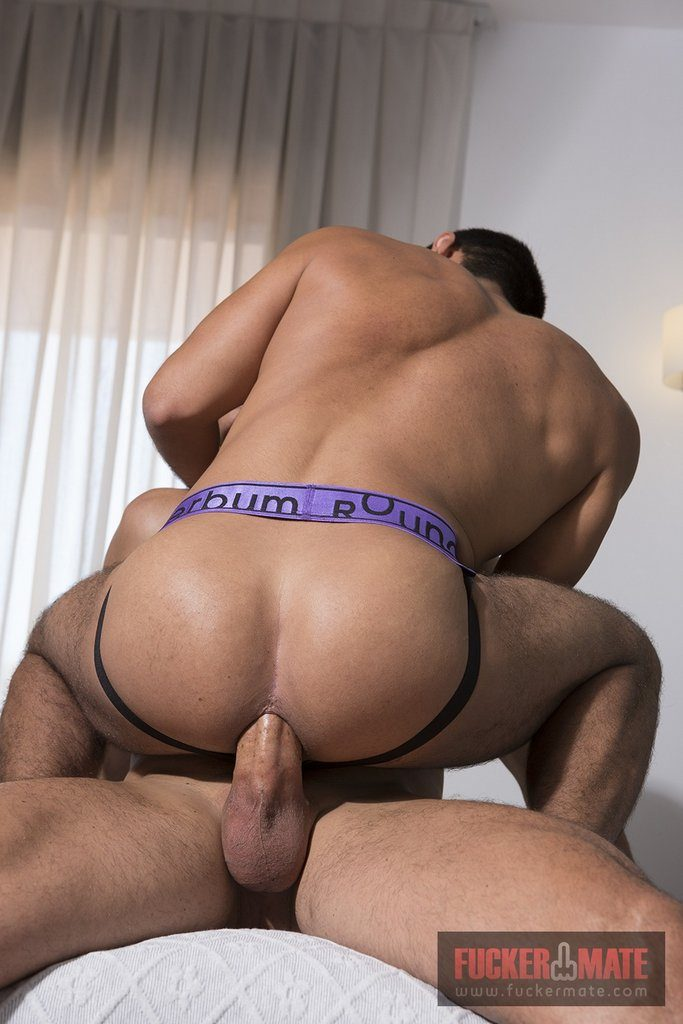 Hung Muscled Stud Barebacks Young Mexican 06